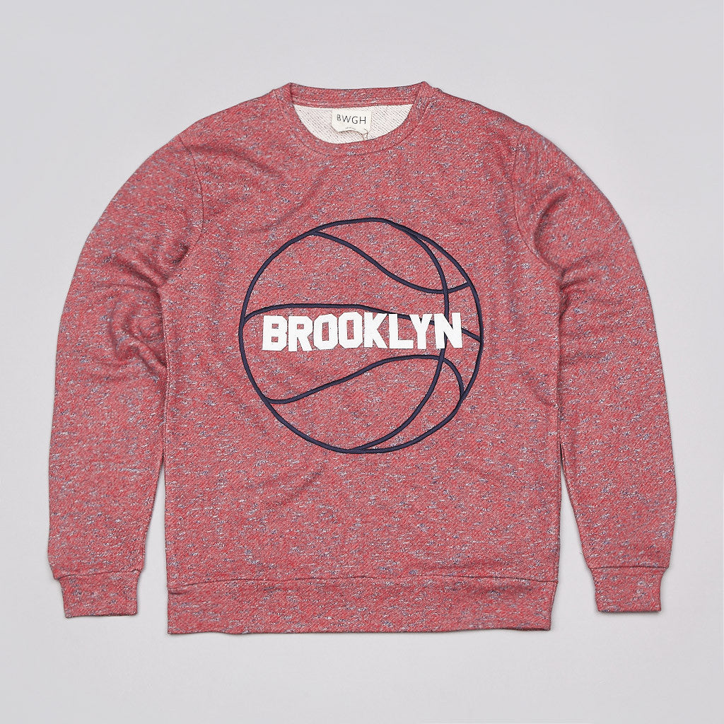BWGH Basket Sweatshirt Red / Blue