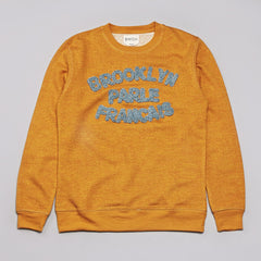 BWGH Brooklyn Parle Sweatshirt Mustard / Blue