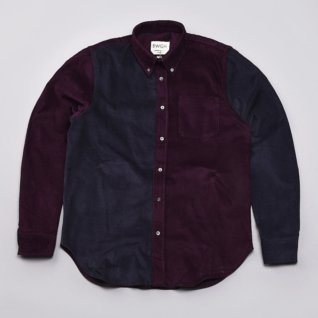 BWGH Cordo Shirt Navy / Prune