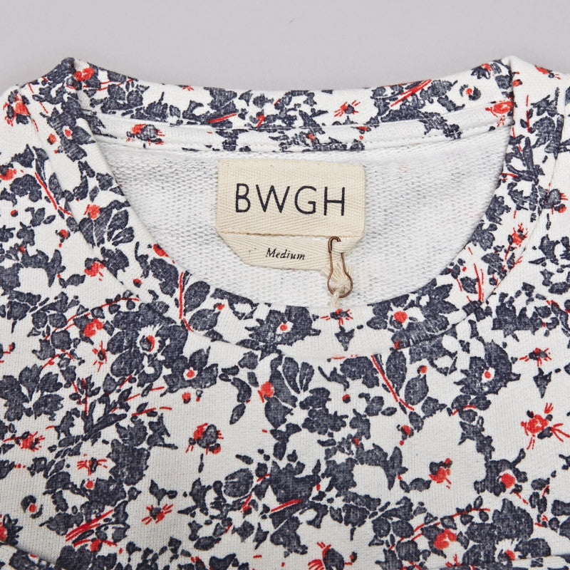 BWGH Flowers Sweatshirt Grey