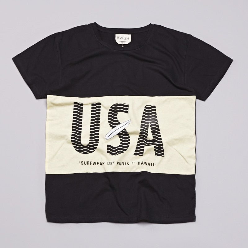 BWGH USA T Shirt Black