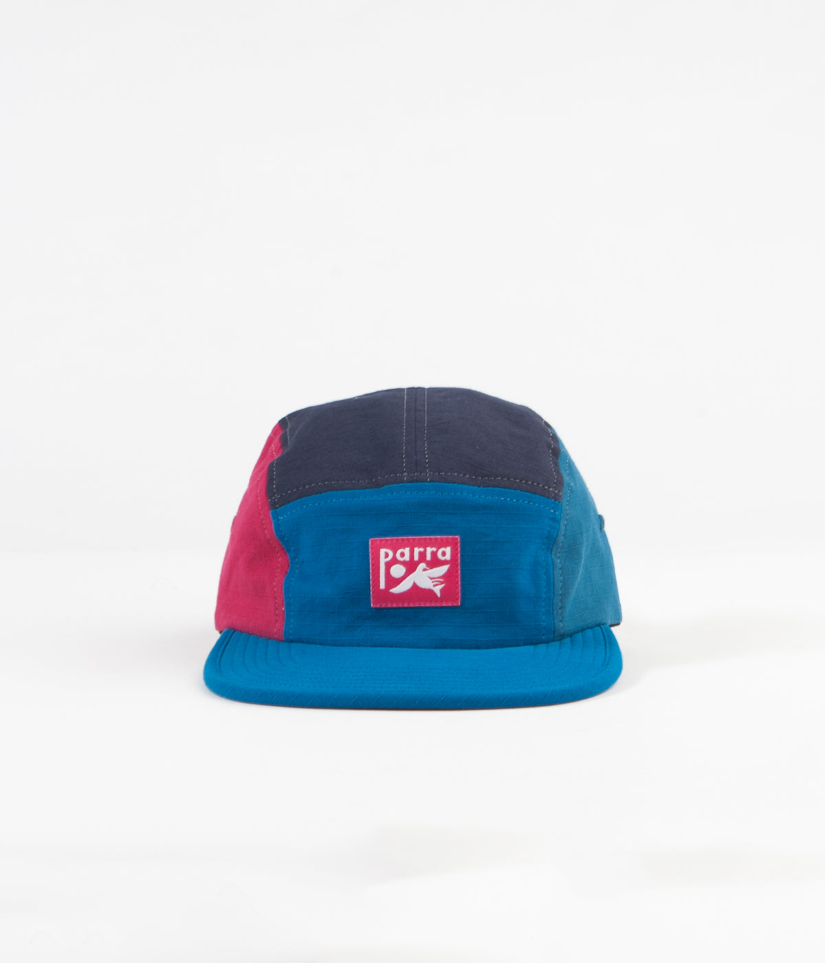 by Parra Bird Dodging Ball 5 Panel Cap - Multicolour