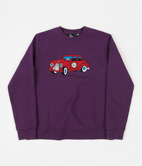 by Parra Toy Car Sweatshirt - Purple