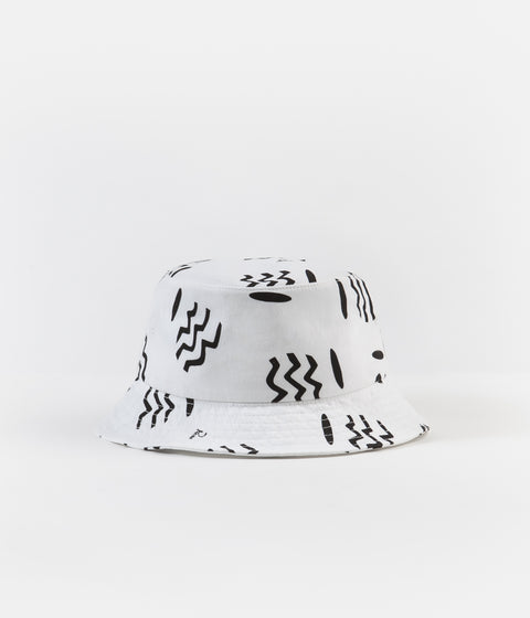 by Parra Vases Bucket Hat - White