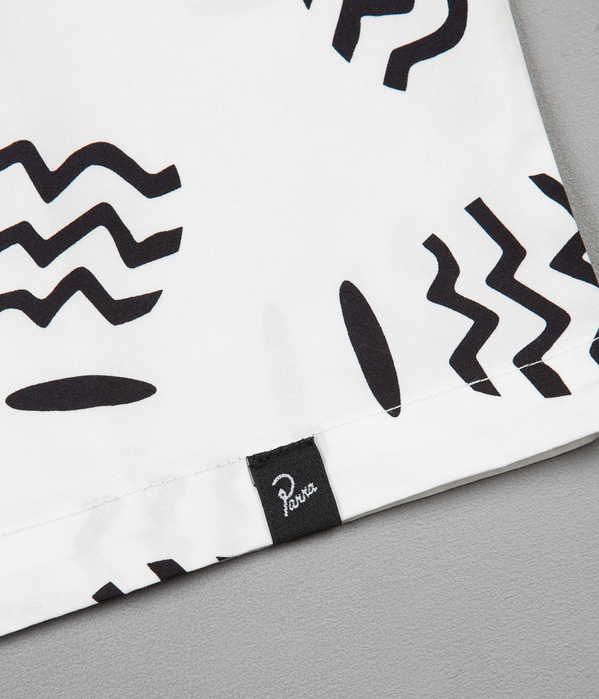 by Parra Vases Camp Collar Shirt - White