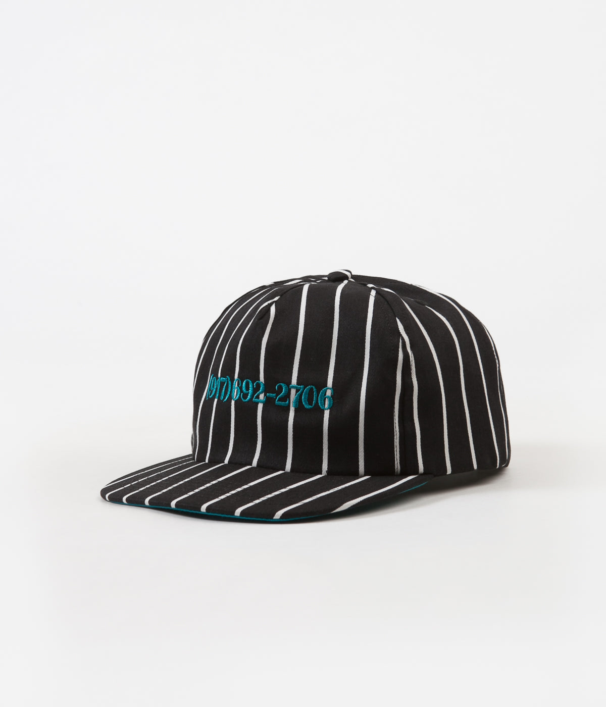 Call Me 917 Dialtone Stripe Cap - Blue