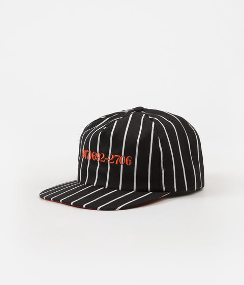 Call Me 917 Dialtone Stripe Cap - Orange