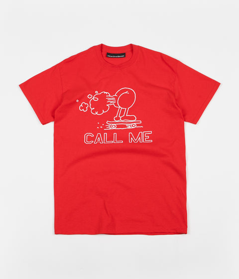 Call Me 917 Fart T-Shirt - Red