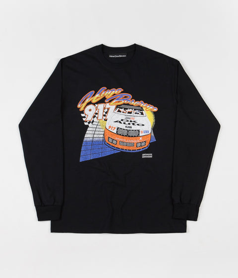 Call Me 917 Hugoooo Long Sleeve T-Shirt - Black