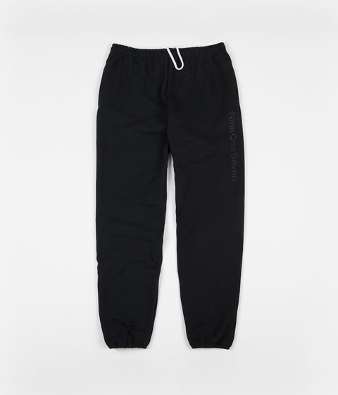 Call Me 917 Logotype Sweatpants - Black