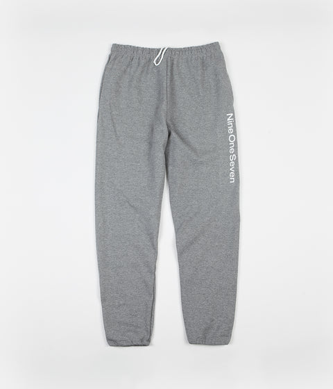 Call Me 917 Logotype Sweatpants - Heather Grey