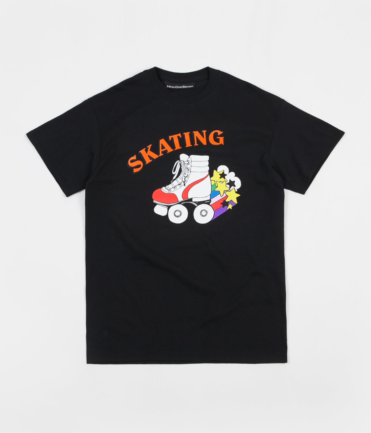 Call Me 917 Skate Or Die T-Shirt - Black
