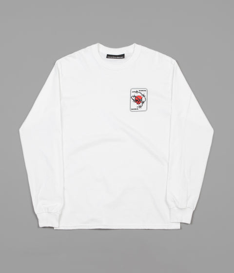 Call Me 917 The Rock Long Sleeve T-Shirt - White