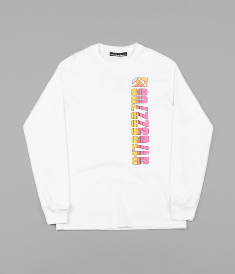 Call Me 917 Tony Island Long Sleeve T-Shirt - White