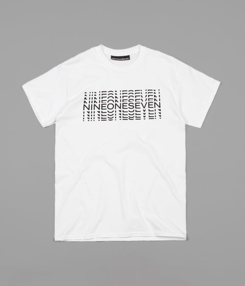 Call Me 917 Typography T-Shirt - White