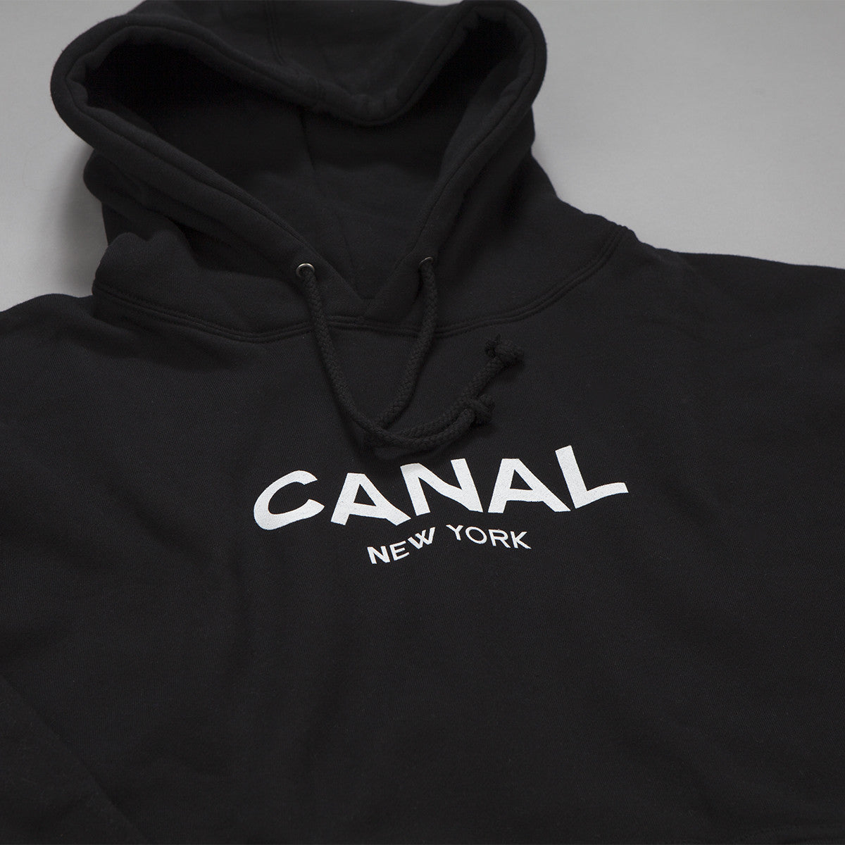 Canal New York Hooded Sweatshirt - Black