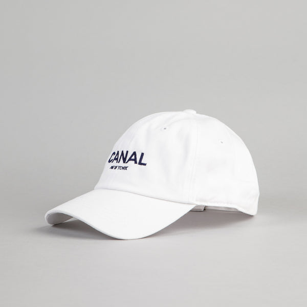 Canal New York Adult Headwear 6 Panel Cap - White