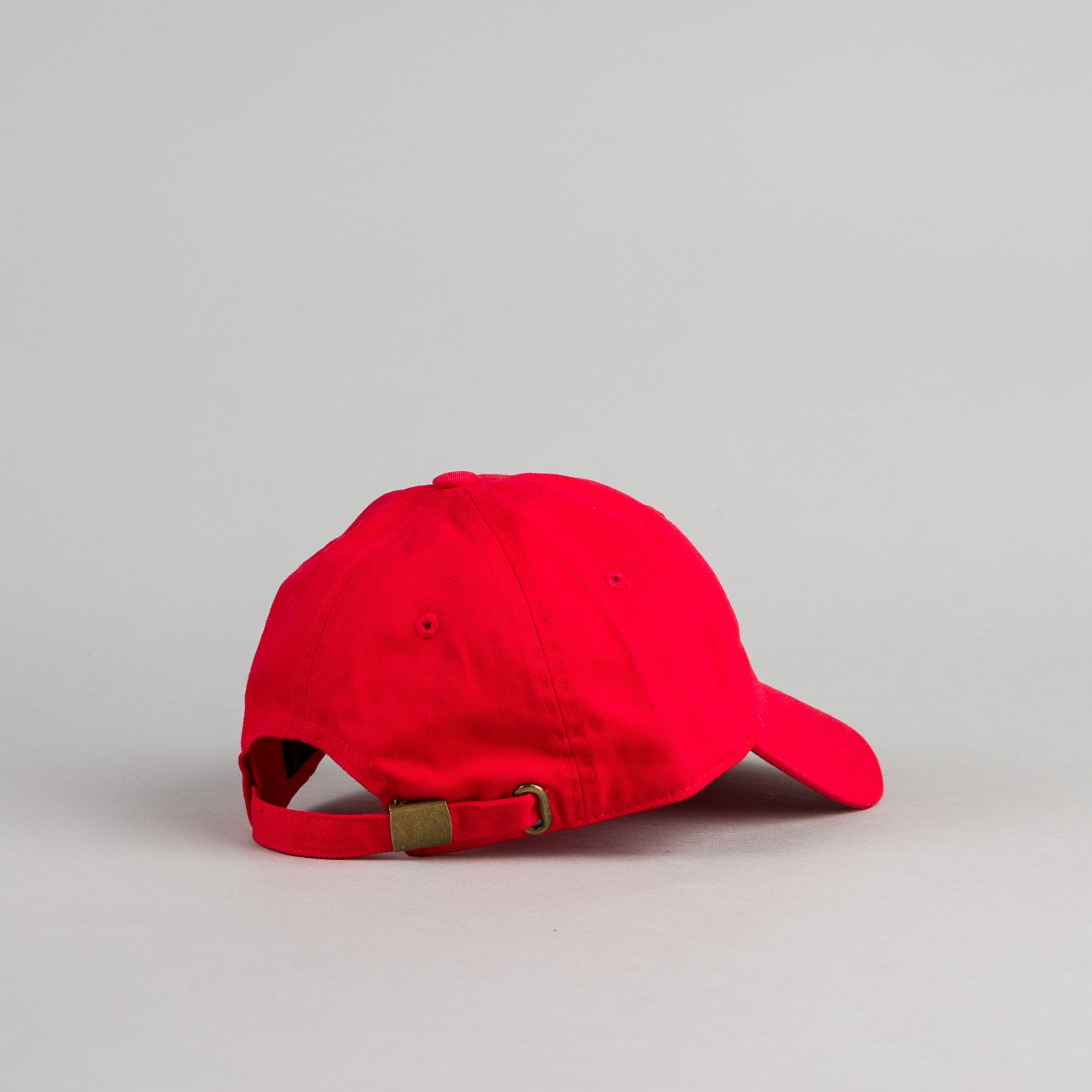 Canal New York Adult Headwear 6 Panel Cap - Red
