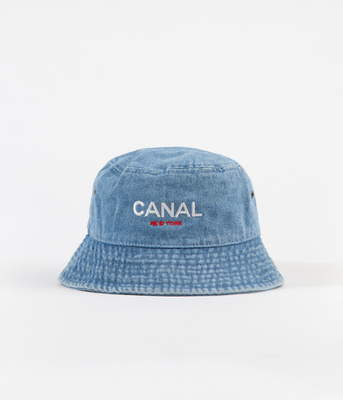 7a9061d7b9f Canal OG Logo Bucket Hat - Light Denim