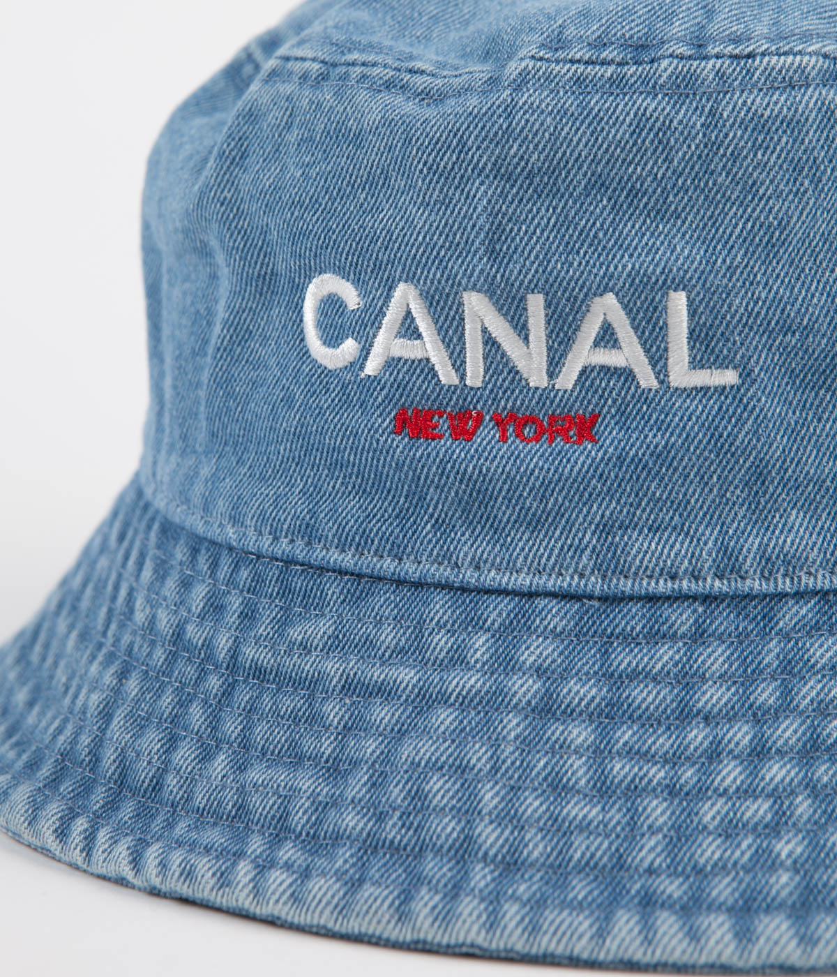 Canal OG Logo Bucket Hat - Light Denim
