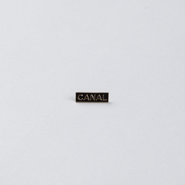 Canal Pin Badge - Gold