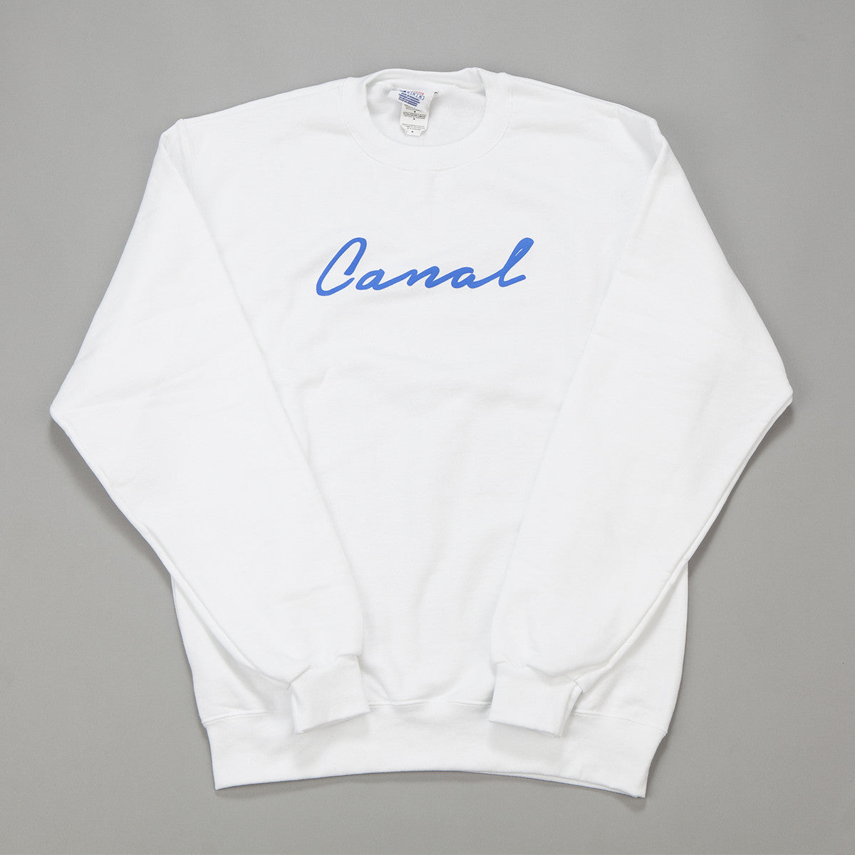 Canal New York Signature Script Crewneck Sweatshirt
