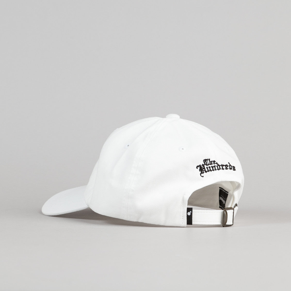 The Hundreds Rose Strapback Cap - White