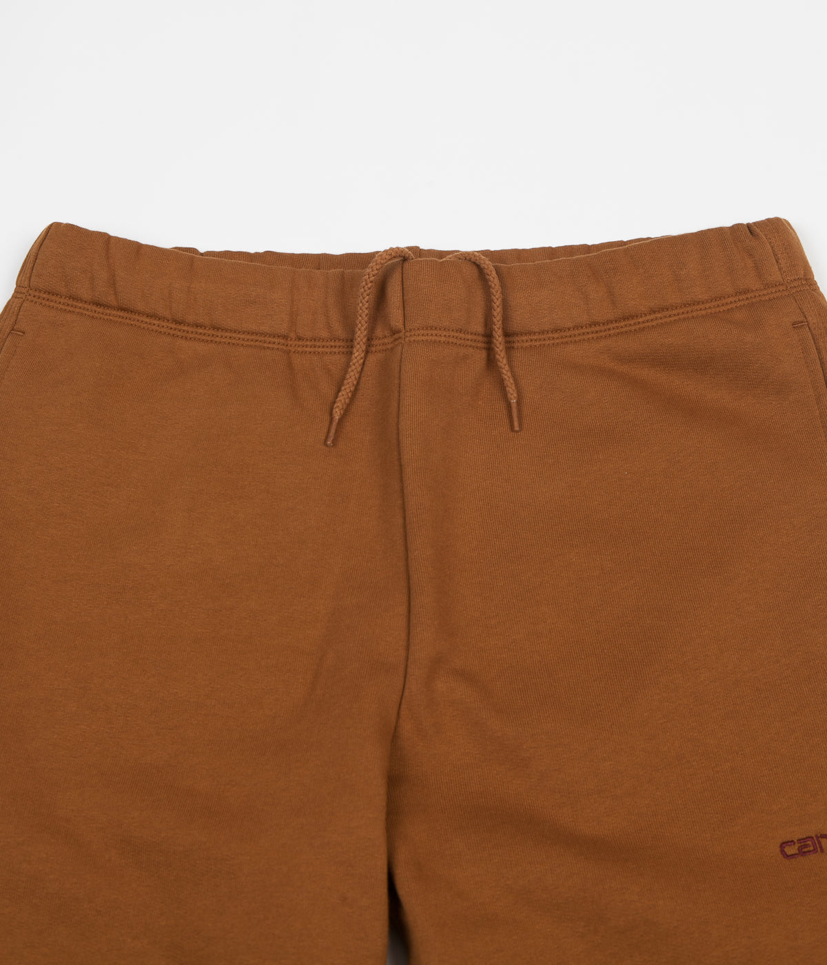 Carhartt American Script Sweatpants - Hamilton Brown / Gold