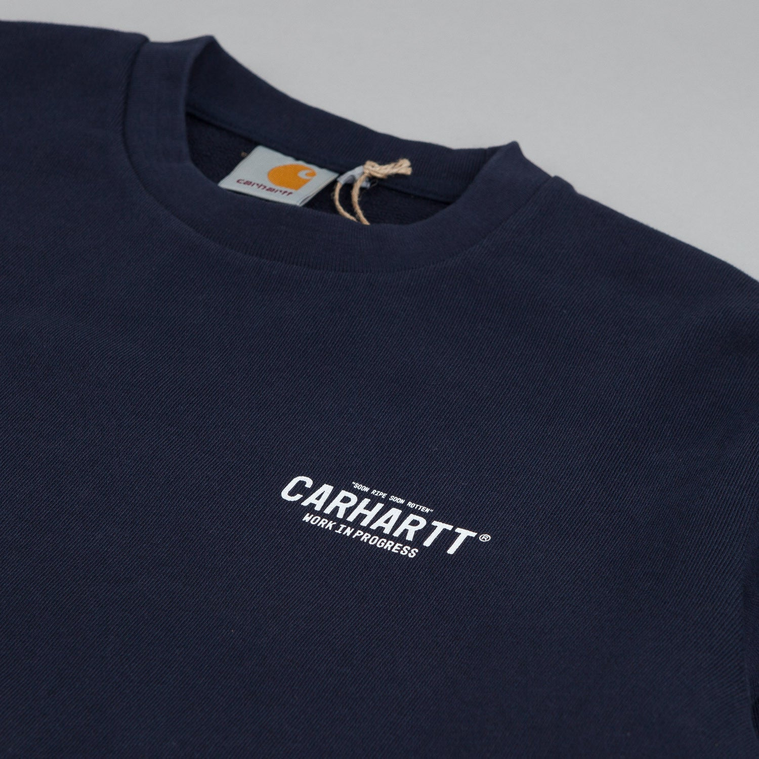 Carhartt 89 Sweatshirt - Duke Blue / White