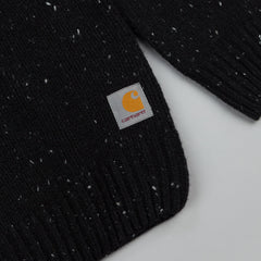 Carhartt Anglistic Sweater Black Heather
