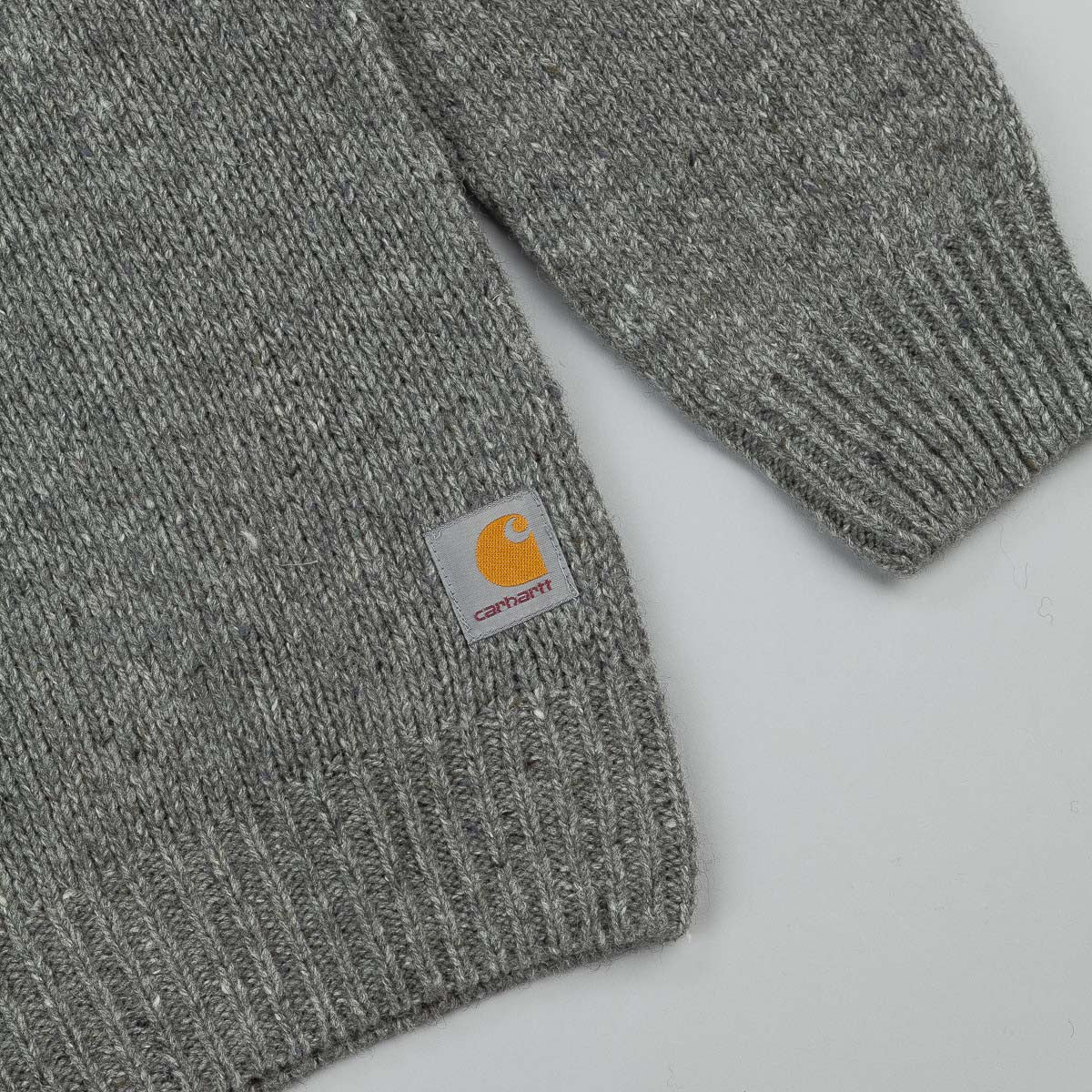 Carhartt Anglistic Sweatshirt - Dark Grey Heather
