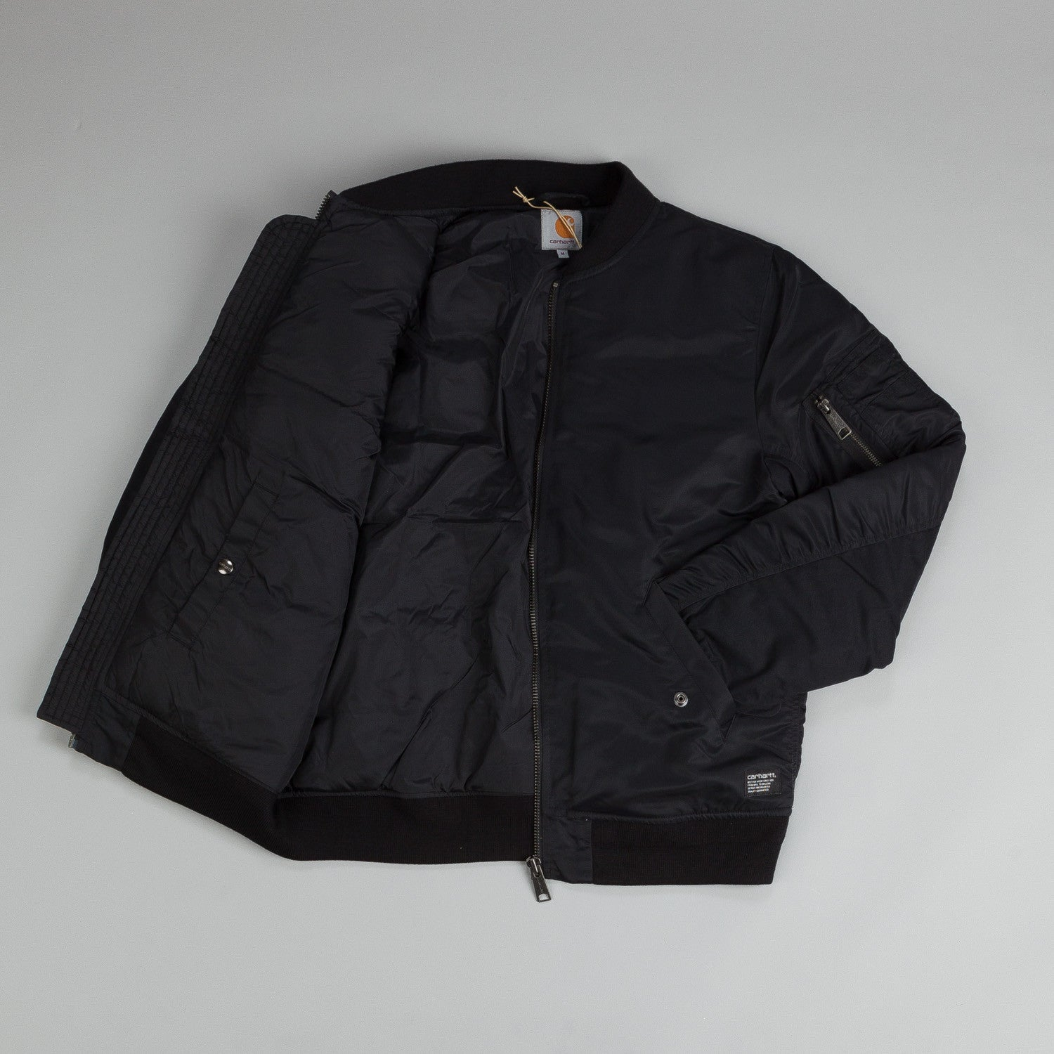Carhartt Ashton Bomber Jacket Black