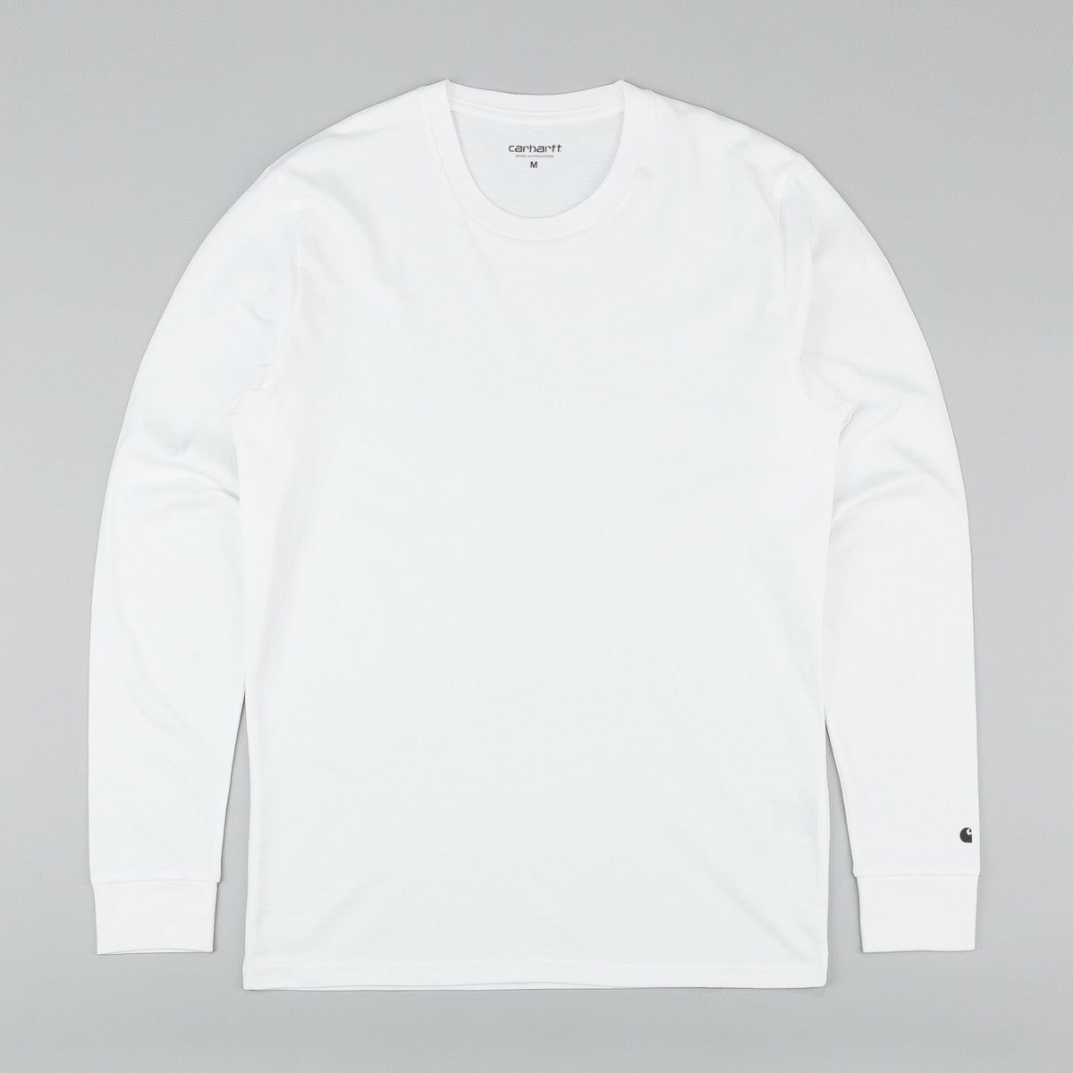 Carhartt Base L/S T-Shirt - White