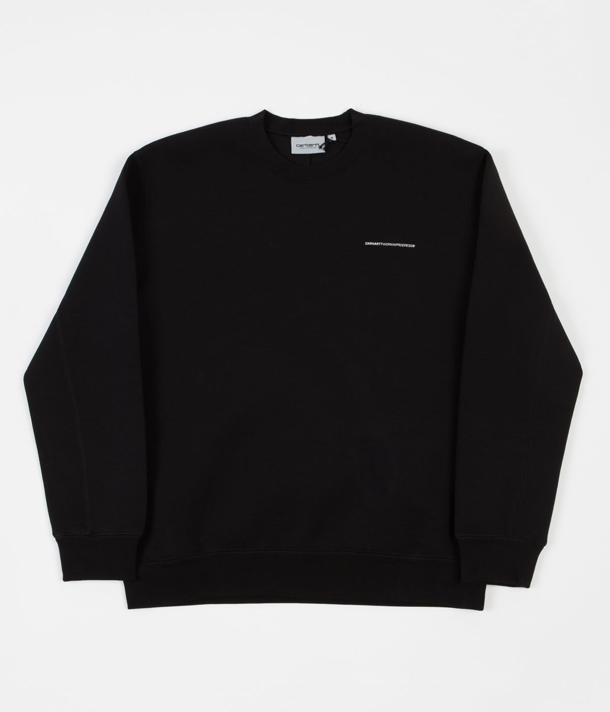 Carhartt Beta Crewneck Sweatshirt - Black / Reflective