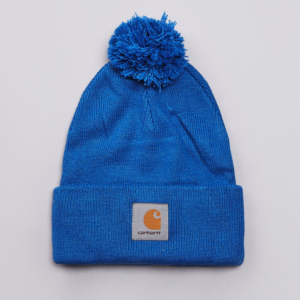 Carhartt Watch Bobble Beanie Imperial Blue