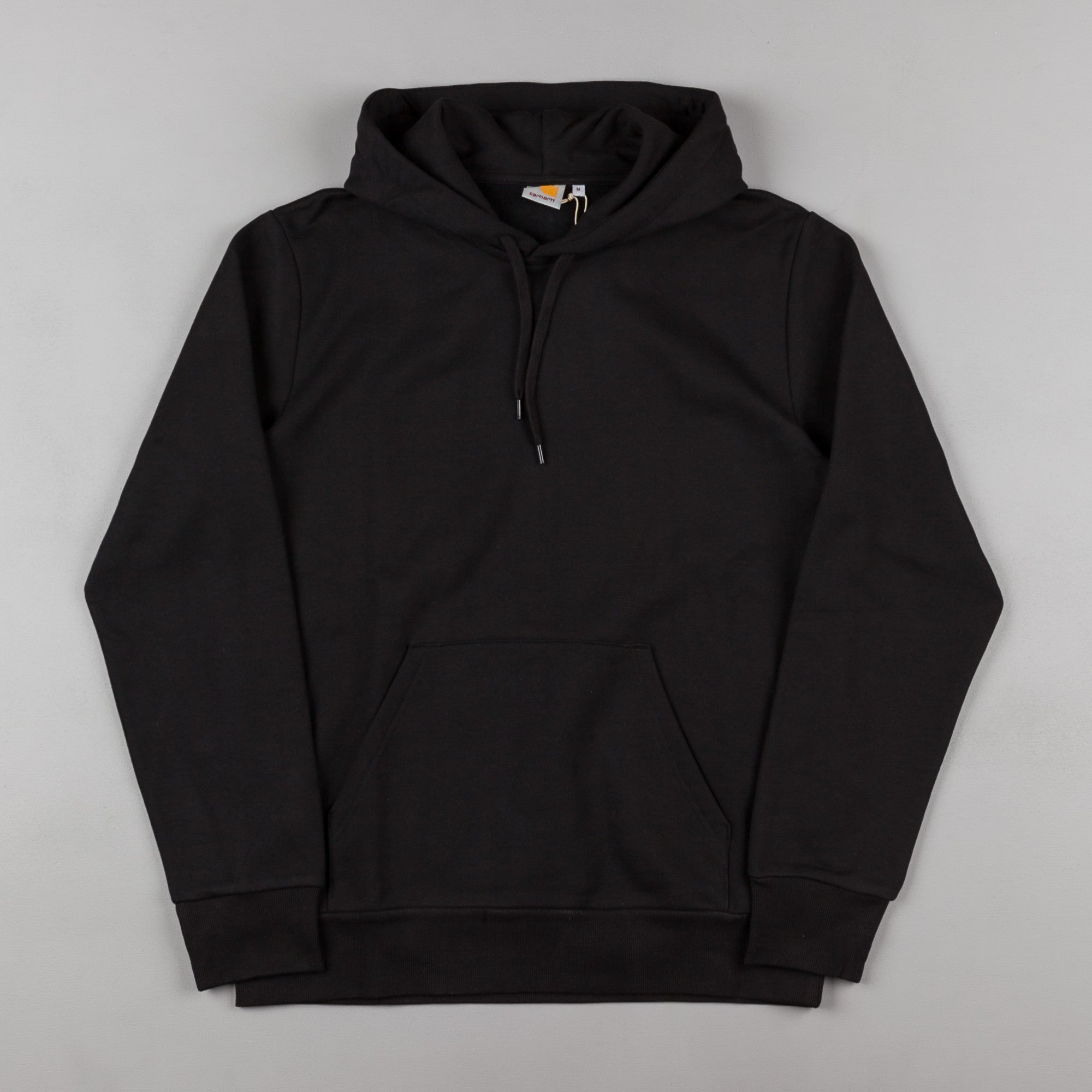 Carhartt Cart Hooded Sweatshirt - Black / White