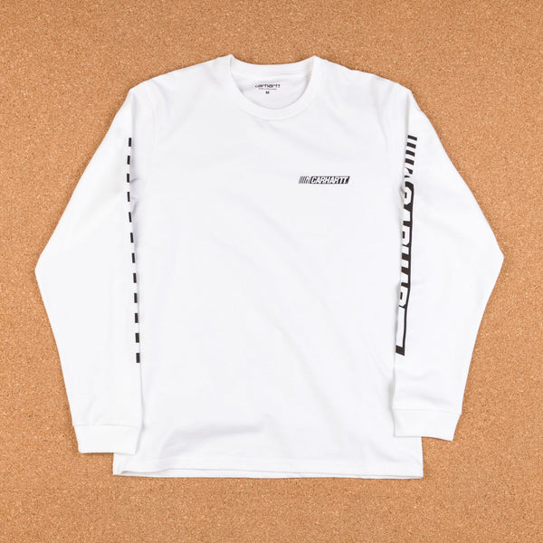 Carhartt Cart Long Sleeve T-Shirt - White / Black