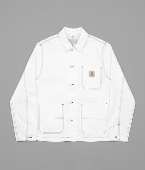 Carhartt Chalk Jacket - White