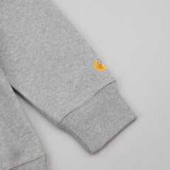 Carhartt Chase Hooded Sweatshirt - Grey Heather