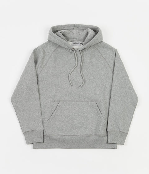 Carhartt Chase Hoodie - Grey Heather / Gold