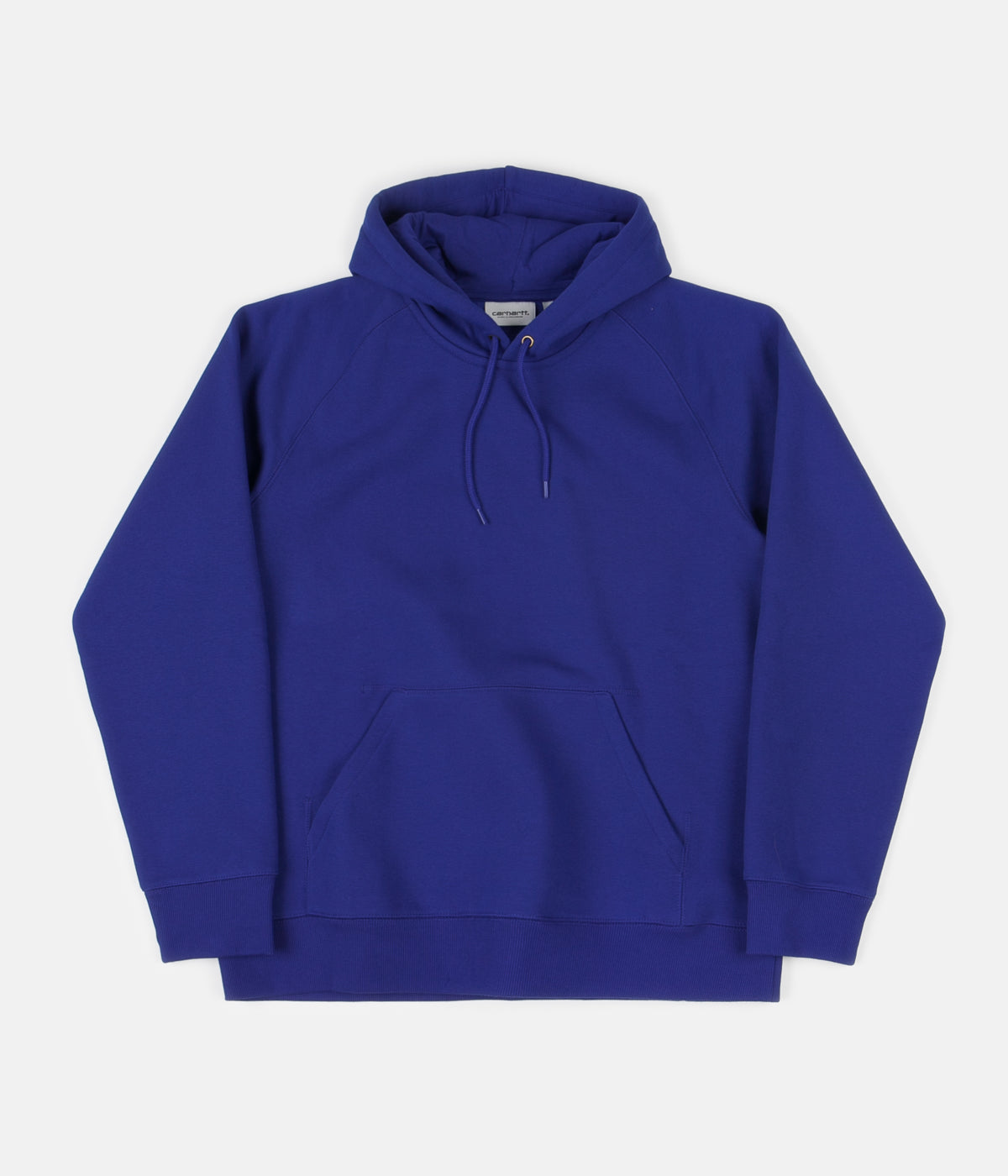 Carhartt Chase Hoodie - Thunder Blue / Gold