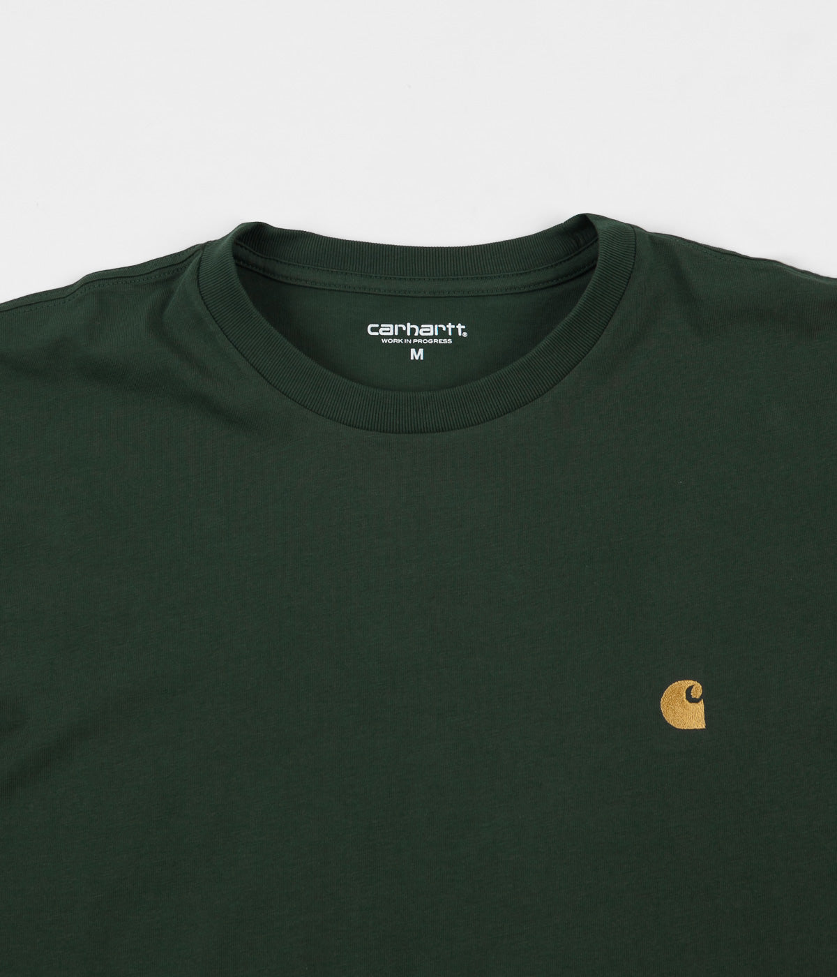 Carhartt Chase Long Sleeve T-Shirt - Treehouse / Gold