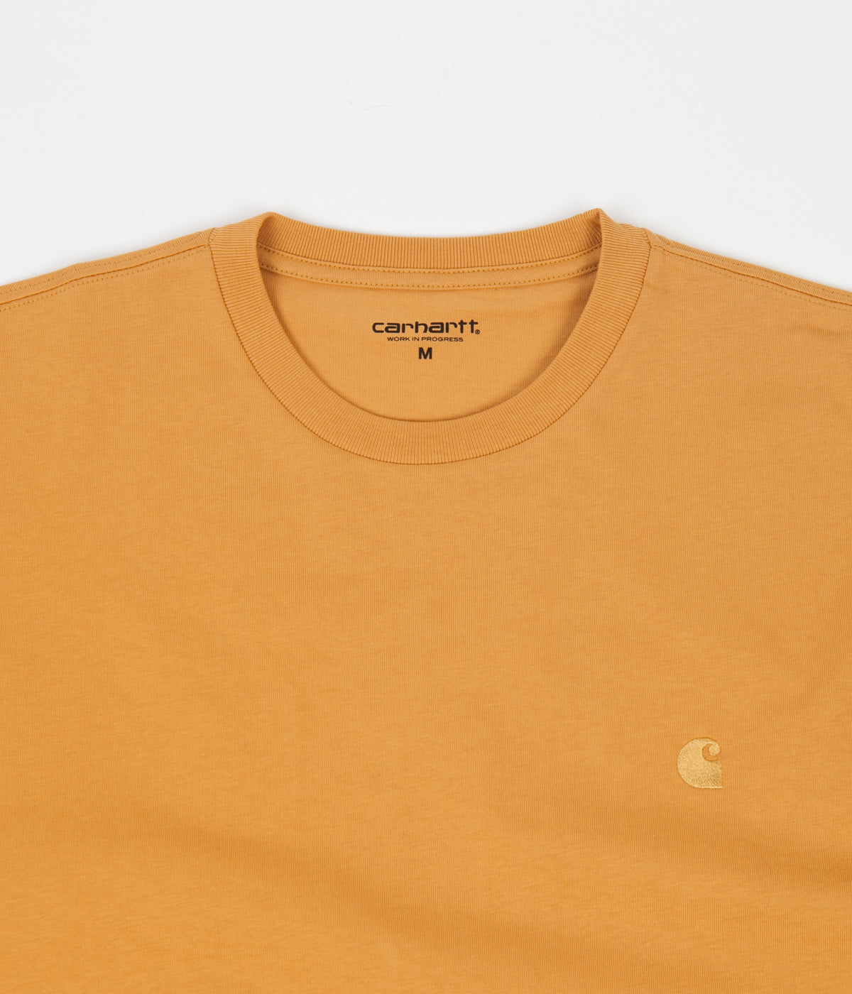 Carhartt Chase Long Sleeve T-Shirt - Winter Sun / Gold