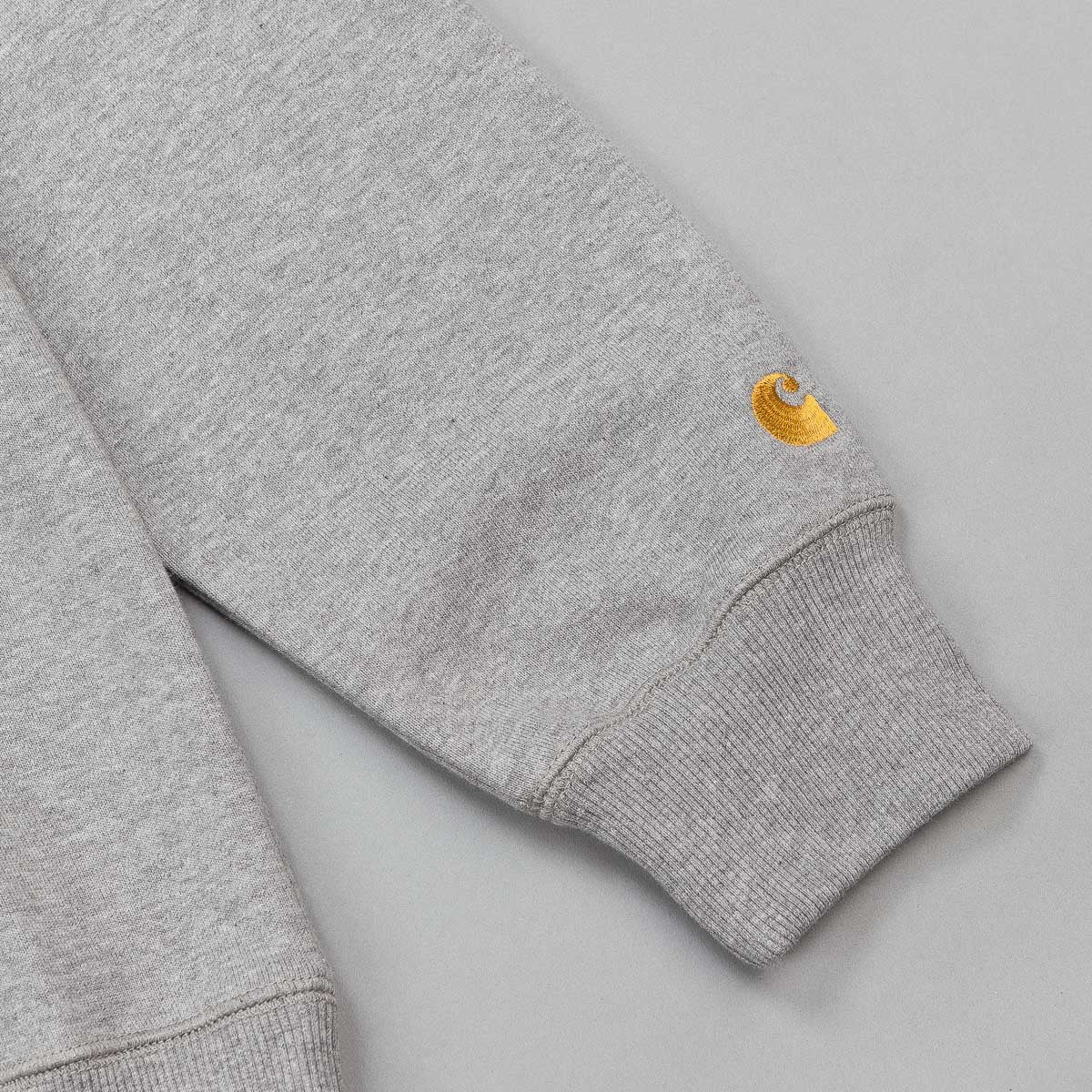 Carhartt Chase LT Hooded Sweatshirt - Heather Grey