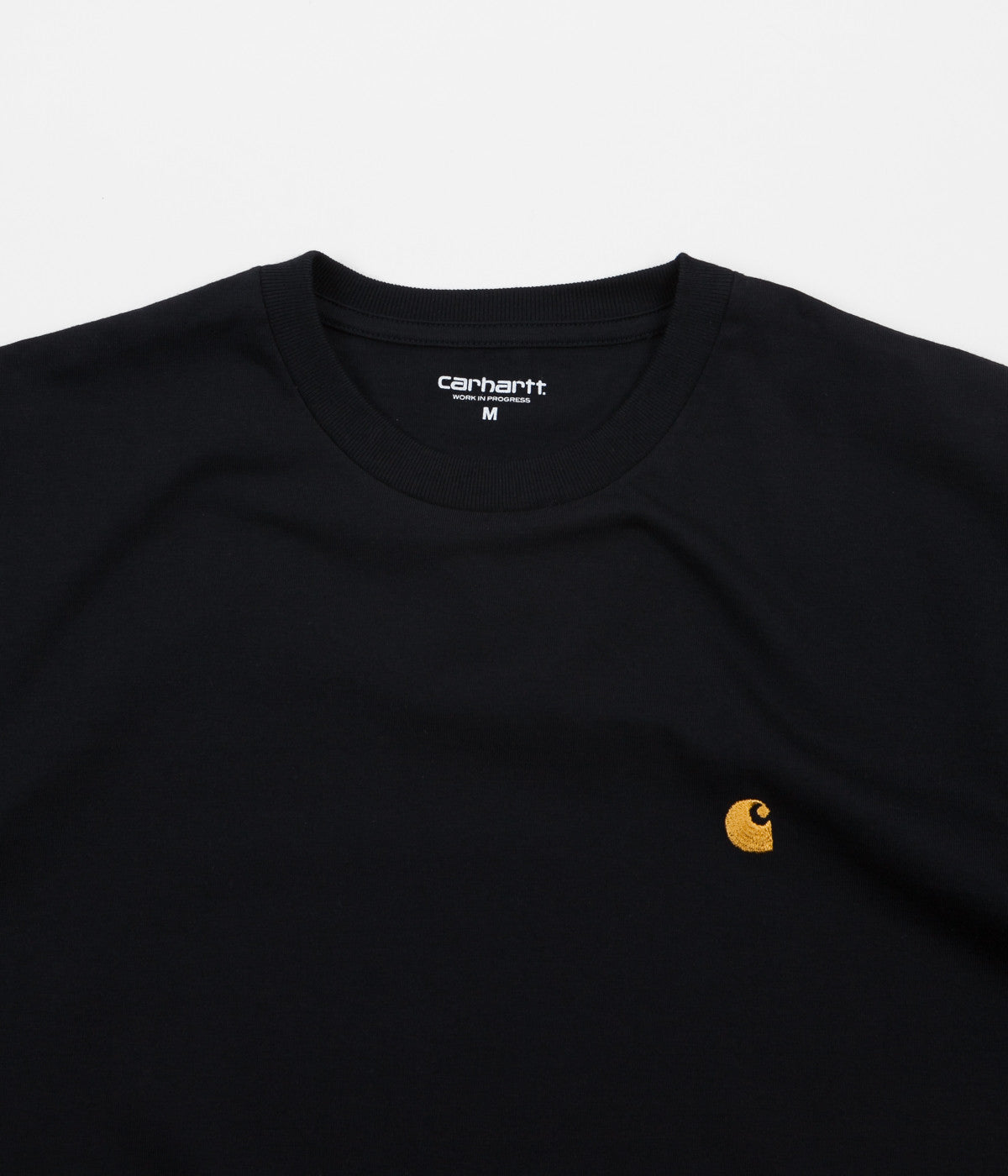 Carhartt Chase T-Shirt - Dark Navy / Gold