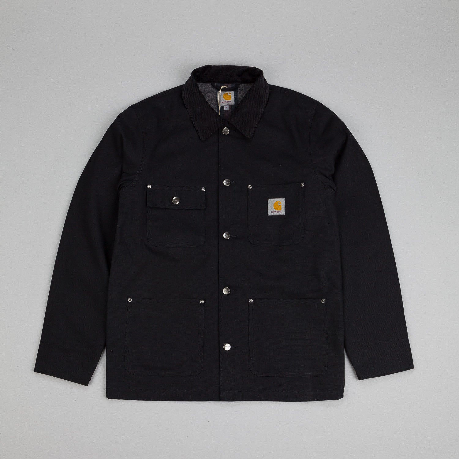 Carhartt Chore Coat Black Rigid