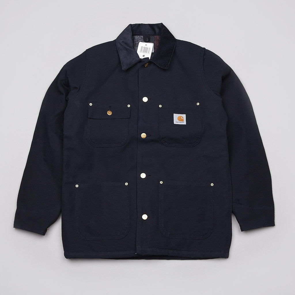 Carhartt Chore Coat Dark Navy Rigid