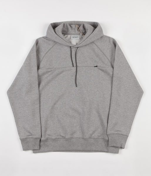 Carhartt Chrono Hooded Sweatshirt - Grey Heather