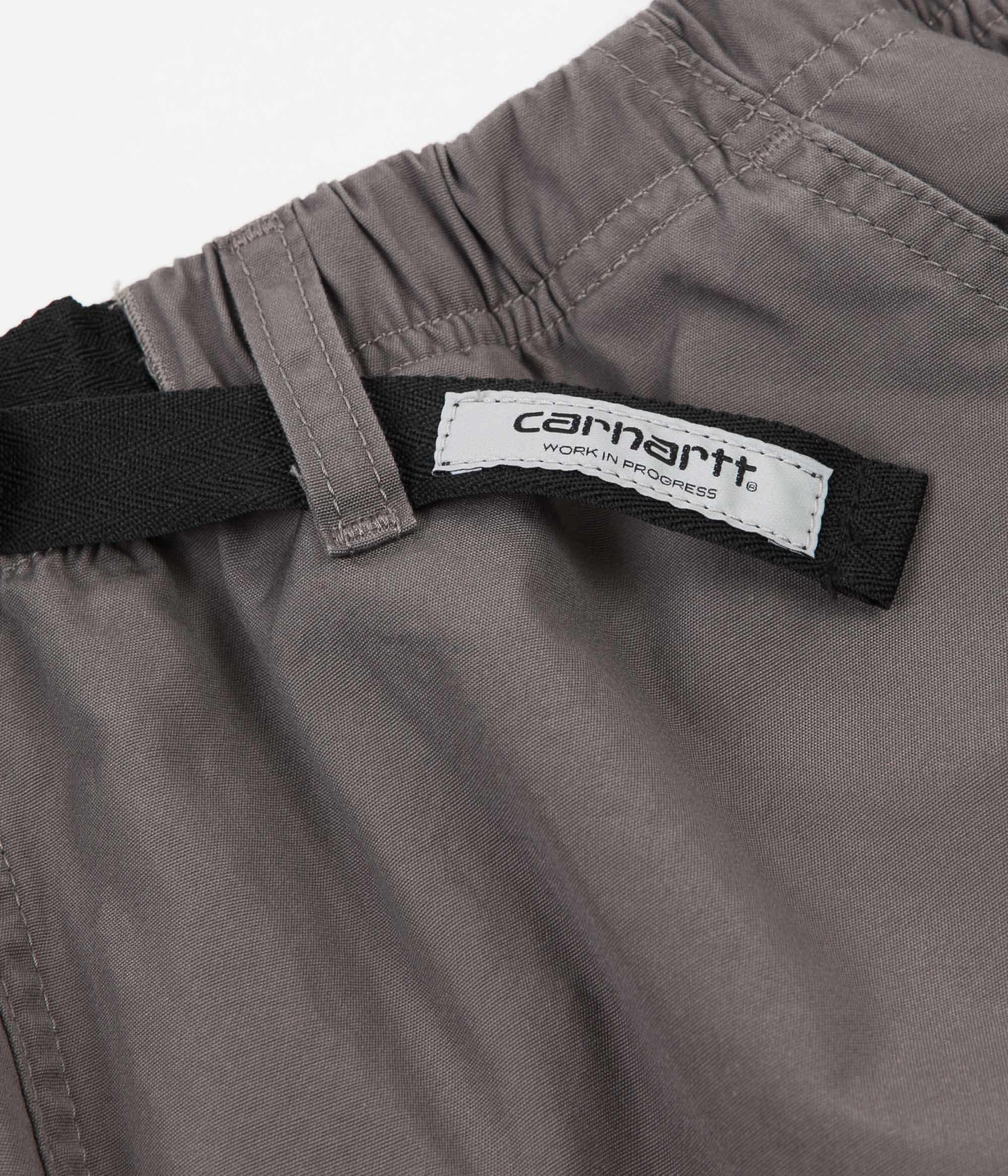 Carhartt Clover Shorts - Air Force Grey Rinsed