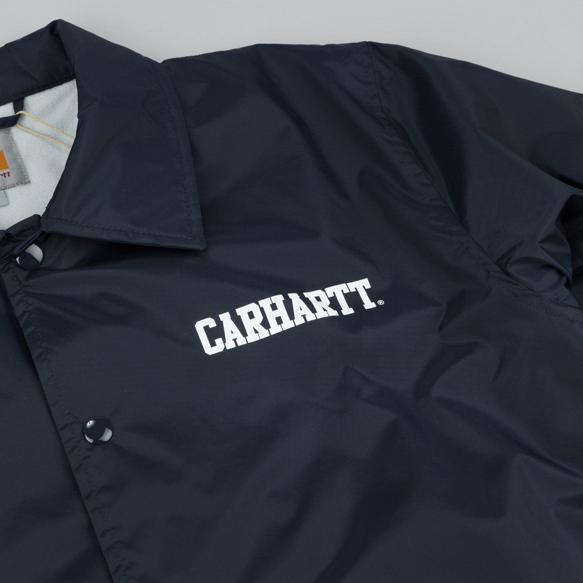 Carhartt College Coach Jacket - Dark Navy